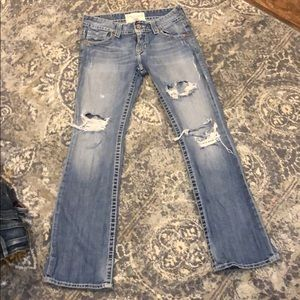 Big start jeans. Size 29, fit more like a 27.